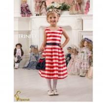 Детское платье для девочки TRINITY bride  RP TG0121 TR03121_white-red
