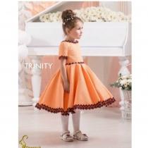Детское платье для девочки TRINITY bride  RP TG0131 TR03131_orange