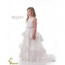 Детское платье для девочки TRINITY bride  RP TG0204 TR03204_milk-capuchino