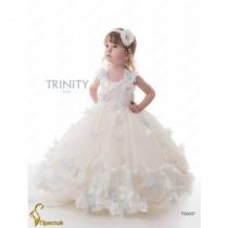 Детское платье для девочки TRINITY bride  RP TG0207 TR0302W_milk