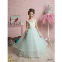 Платье детское Veronicaiko VG0015 (FG0487) NM0300H_milk-turquoise