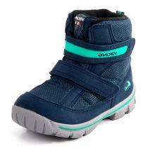 Зимние ботинки для мальчика, синие (GORE-TEX) 3-84380-00504