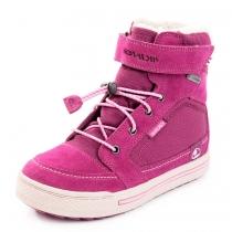 Зимние ботинки для девочки, фиолетовые (GORE-TEX) 3-84500-06209