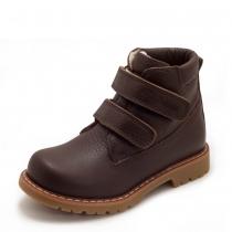 Ботинки для мальчика, коричневые 514-13