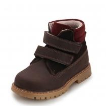 Ботинки унисекс, коричневые 514-14