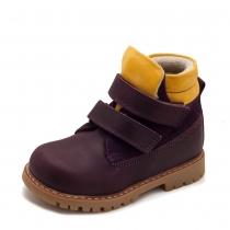 Ботинки для девочки, фиолетовые 514-2