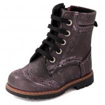 Ботинки для девочки, фиолетовые 571-1