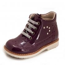 Ботинки для девочки, фиолетовые 926-3