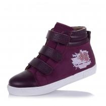 Ботинки для девочки, фиолетовые 980-92-113L
