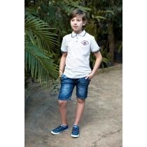 Бриджи джинсовые для мальчиков 717005