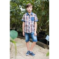 Рубашка текстильная для мальчиков 717046