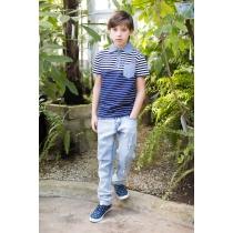 Брюки джинсовые для мальчиков 717079