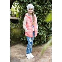Жилет текстильный для девочек 718000