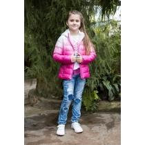 Куртка текстильная для девочек 718001