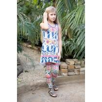 Платье трикотажное для девочек 718008