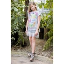 Платье трикотажное для девочек 718010