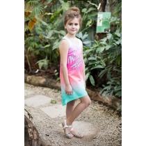 Платье трикотажное для девочек 718015