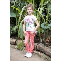 Брюки текстильные для девочек 718026