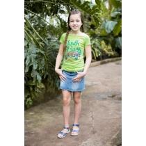 Юбка джинсовая для девочек 718029
