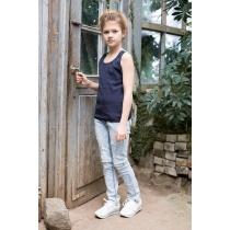 Брюки джинсовые для девочек 718037