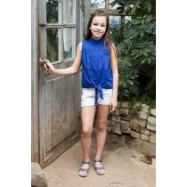 Блузка текстильная для девочек 718043