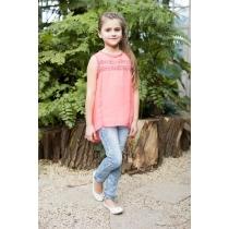 Блузка текстильная для девочек 718087
