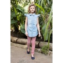 Блузка джинсовая для девочек 718129