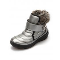 Ботинки зимние, серебристый балтико 16002(14-2)_slvr