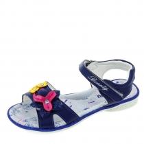 Сандалии для девочки, синие 9104801