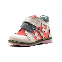 Утепленные детские ботинки для девочки, розовые 05-5