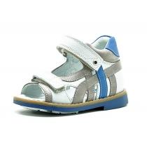 Открытые детские сандалии для мальчика, серые 1159-4