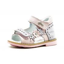 Открытые сандалии для девочки, розовые 1166-5
