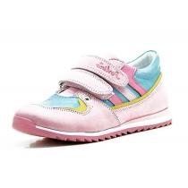 Спортивные ботинки для девочки, розово-голубые 1506-3