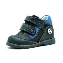 Утепленные ботинки для мальчика, темно-синие 84-1