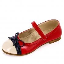 Туфли для девочки, красные 936.R.182_red