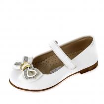 Туфли для девочки, белые 936.R.186_wht