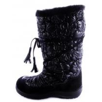 Утепленные сапоги Glamour, черные 1406-03