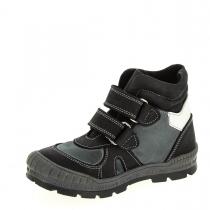 Утепленные спортивные ботинки для мальчика, черно-серые 62-2