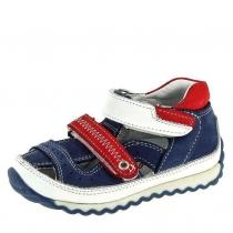 Закрытые сандалии для мальчика, синие 1205-9