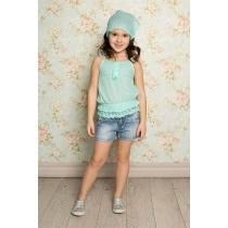 Блузка текстильная для девочек 714136
