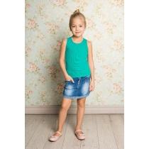 Юбка джинсовая для девочек 714234