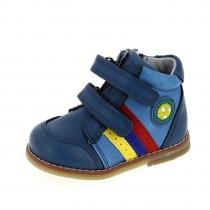 Ботинки для мальчика, синие A-T62-75-B