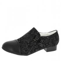 Туфли для девочки, черные A-T57-08-A
