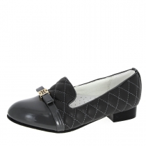 Туфли для девочки, серые A-T57-11-D
