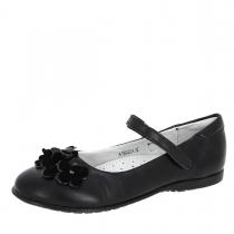 Туфли для девочки, черные A-T68-02-A