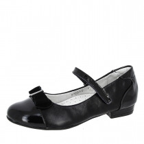 Туфли для девочки, черные A-T68-20-A