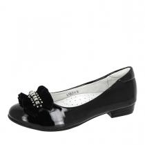 Балетки для девочки, черные A-T68-21-A
