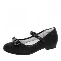 Туфли для девочки, черные A-T68-24-A