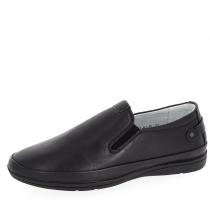 Туфли для мальчика, черные A-T63-61-B
