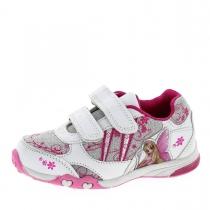Кроссовки для девочки, белый/серебро/розовый A-T60-80-A
